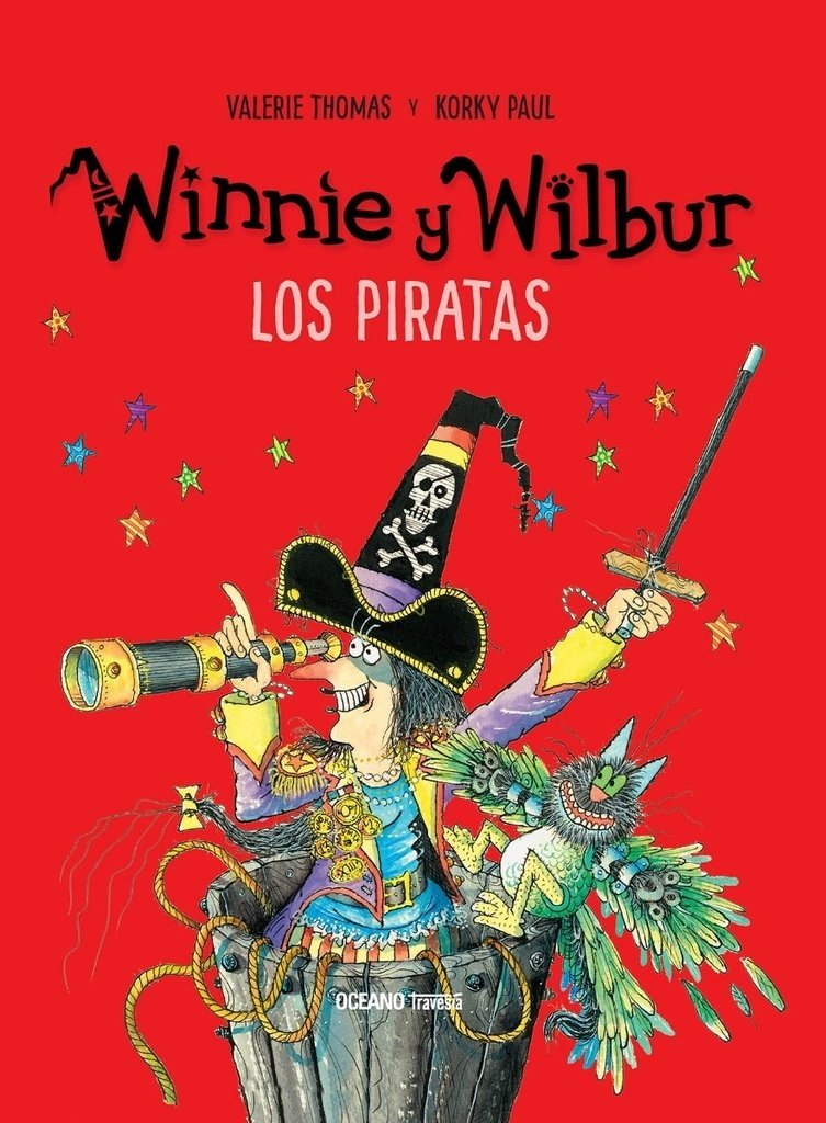 WINNIE Y WILBUR Y LOS PIRATAS - Valerie Thomas/Korky Paul  - OCEANO TRAVESIA