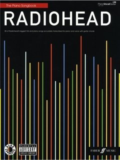 Radiohead - The piano songbook - Partituras - Piano, vocal, guitar
