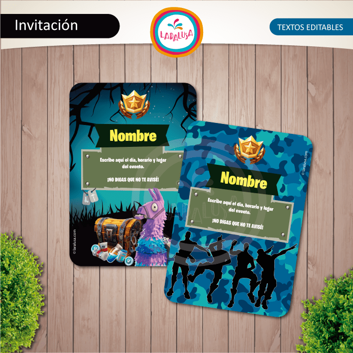Fortnite Invitaciones