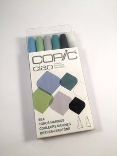 Set Copic Ciao Tonos Marinos
