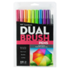 Tombow Dual Brush Set 10 Color Brillantes