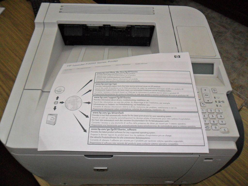 Impresora Hp Laserjet Empresarial Serie P3015