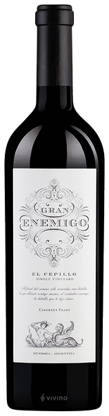 GRAN ENEMIGO SINGLE VINEYARD EL CEPILLO 2015
