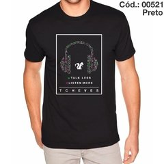 Camisa Talk Less Listen More Cód.: 00521