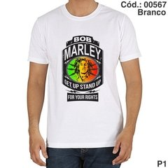 Camisa Bob Marley Get up Stand Up Cód.: 00567