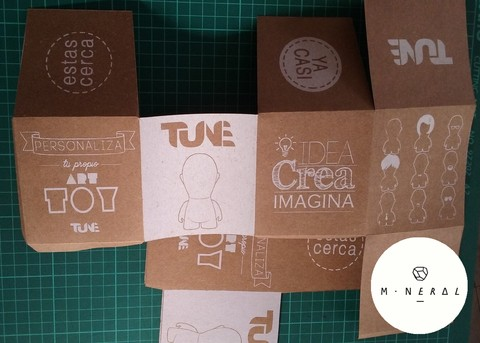 Packaging Art Toy/ Tune