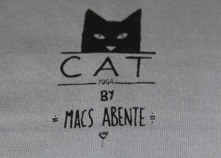 Remeras CAT Yoga