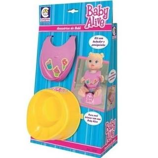 Baby Alive Kit Babador e Pinico (COR SORTIDA) - Cotiplás