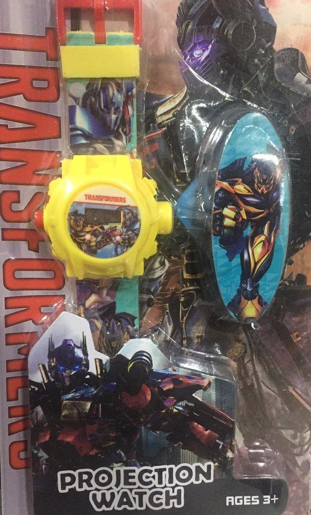 2de37e8d6 Relógio Digital Retroprojetor Transformers