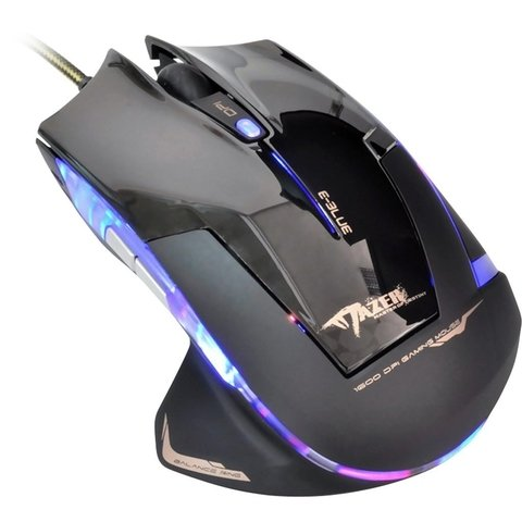 Mouse Gamer USB 2400DPI Mazer Type-R Preto E-BLUE - 47986