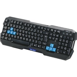 Teclado Gamer USB Polygon Preto E-BLUE - 52520