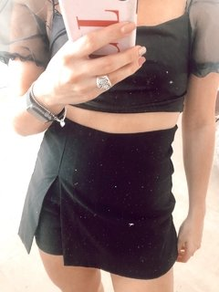 ♛ SKORT RABBIT NEGRO ♛ en internet