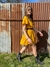 ☻- Olé Mustard Dress - - WE ARE VELVET