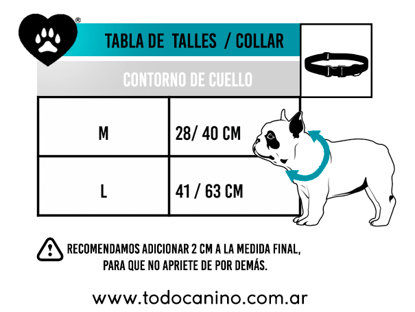 Collar + Correa FOOD LUCK en internet