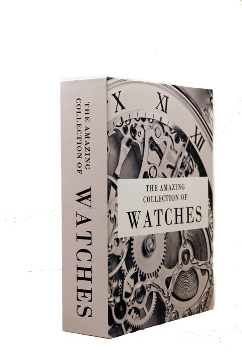 CAIXA LIVRO THE COLLECTION OF WATCHES