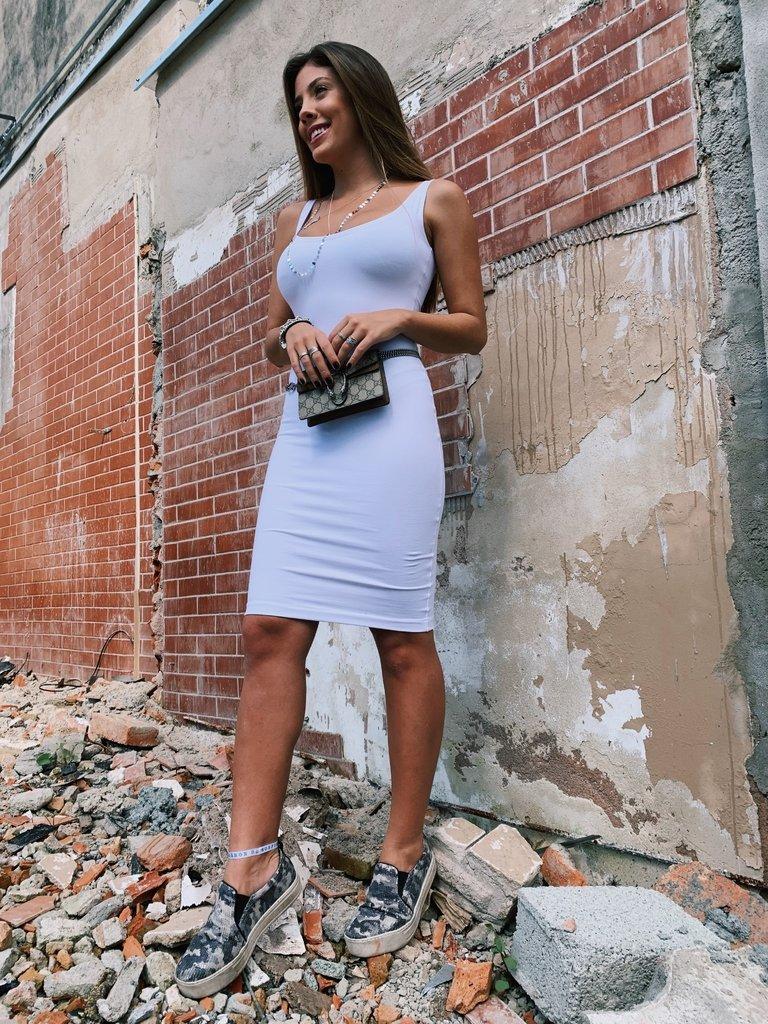 f06746c560a1 Vestido Tubinho branco - Comprar em Isa Caritá brand