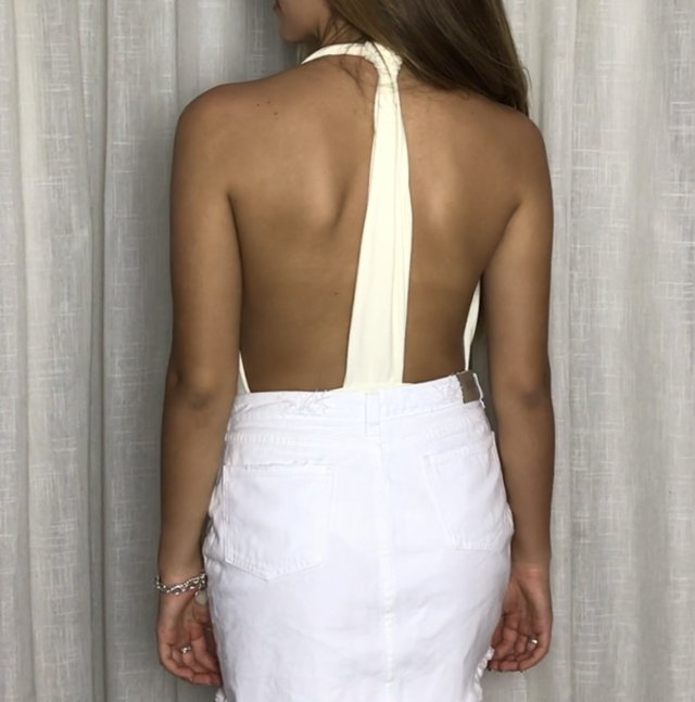 Body St. Barth Off White - Isa Caritá brand