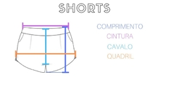 shorts jeans escuro - Isa Caritá brand
