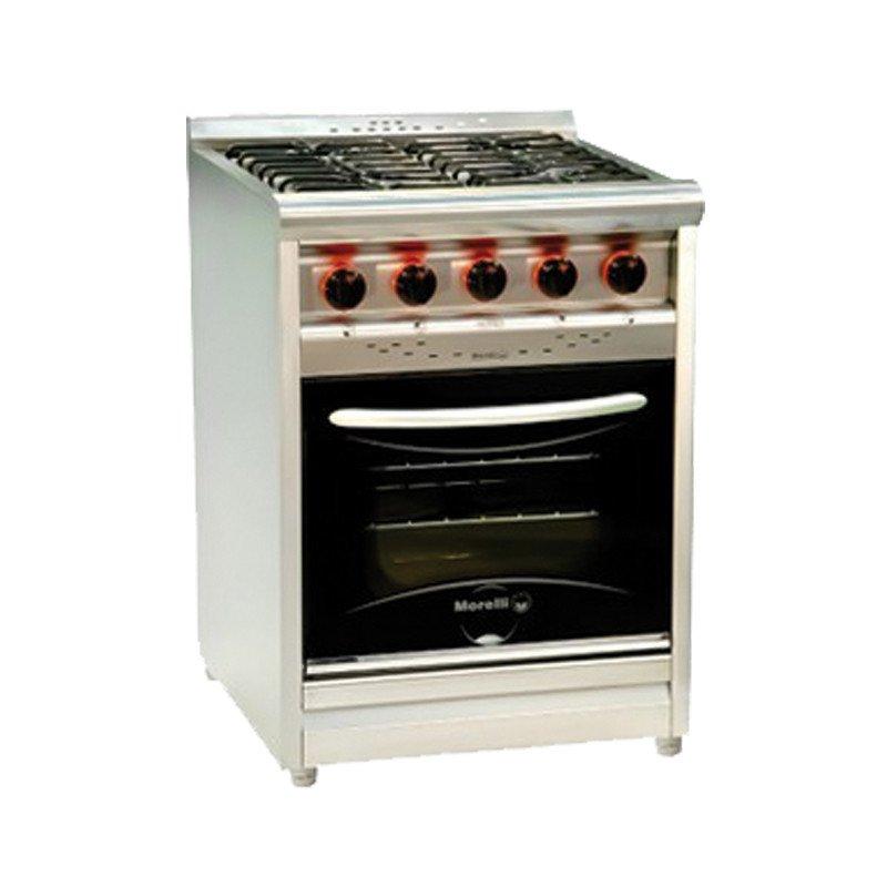 Cocina Morelli Chef 550 Con Puerta De Vidrio