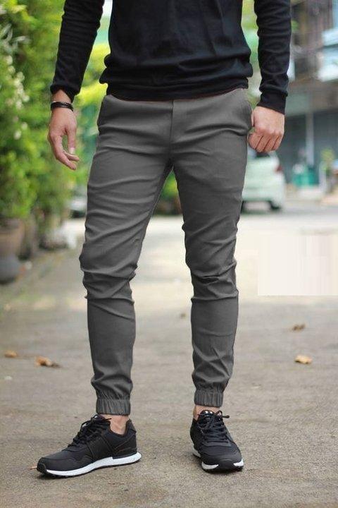 Pantalon De Gabardina Corte Chino Avellanedaropa