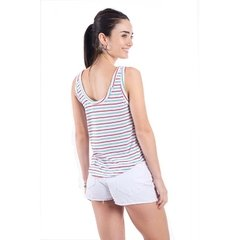 Pack de 3 Musculosa Rayada escote U Art 7518 FRESH en internet