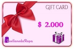 Gift Card 2.000