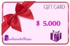 Gift Card $5.000