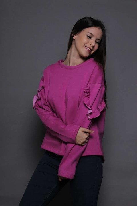 Sweater rustico liso Art 18523 DC