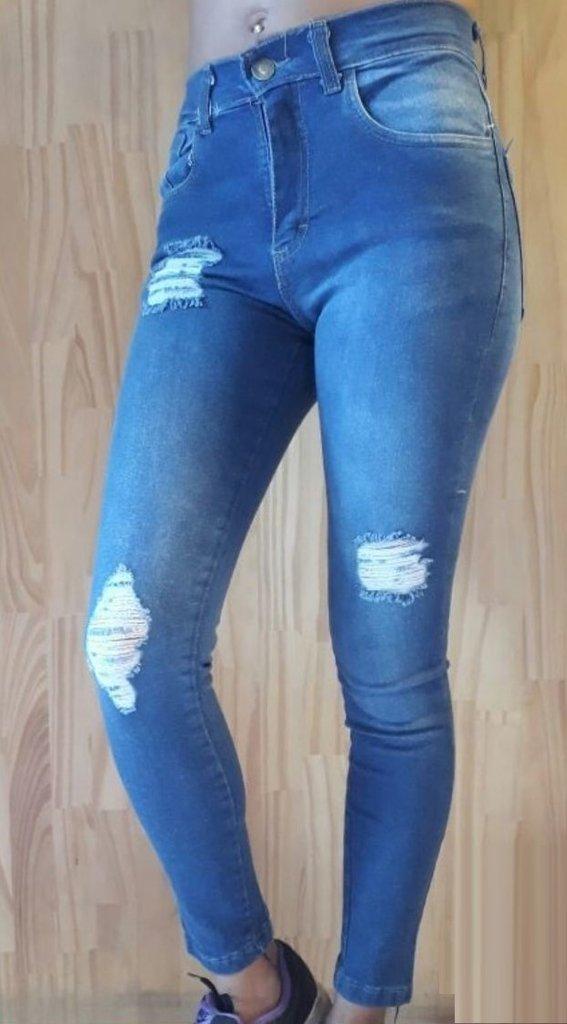 9cb75aeccf Pack de 3 Jeans con roturas y desgastes elastizados