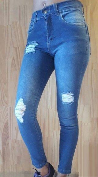 a95127941 Pack de 3 Jeans elastizados chupin talles grandes