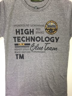 Remera de algodon high technology hombre