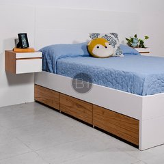 CAMA NORDICA WHITE