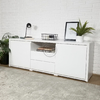 MUEBLE TV MONTEVIDEO WHITE - belgranohome
