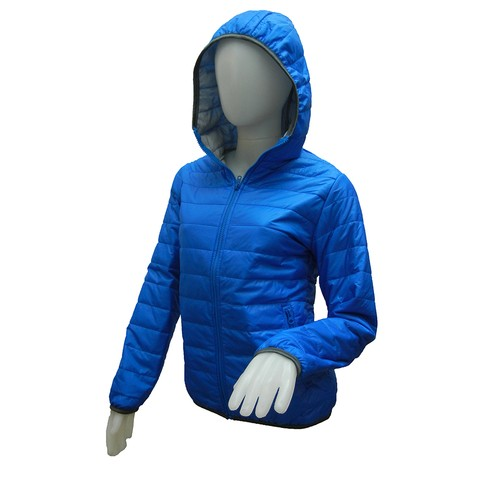 Campera Ultrasoft Dama Color Azul