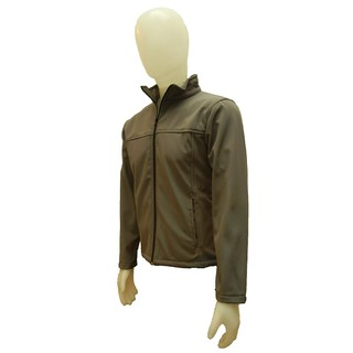 Campera Softshell Jacket Hombre Color Gris