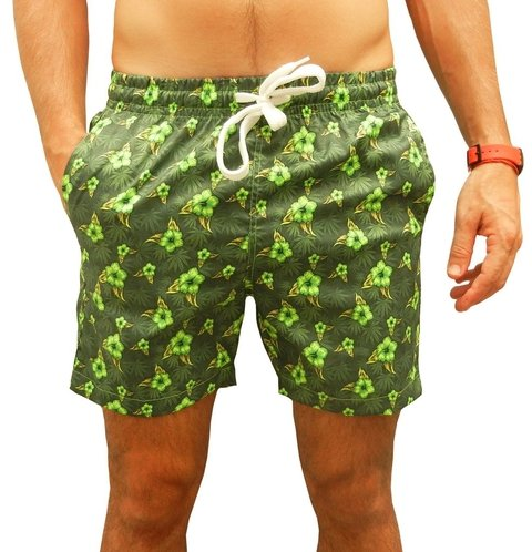 Short de Baño Summer 2017 Smooth Verde