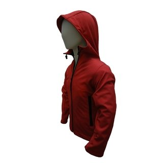Campera Softshell Cap Nene Color Rojo