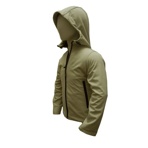 Campera Softshell Cap Nene Color Beige