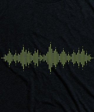T-shirt Nego John Sound on internet