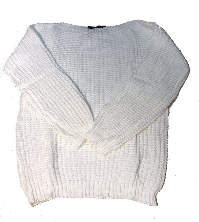 Sweater cuello redondo punto Ingles en internet
