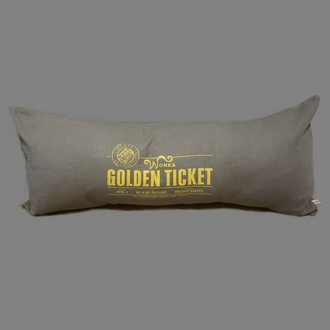 ALMOHADON GOLDEN TICKET 70X30