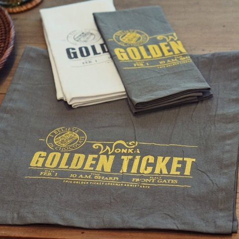 CAMINO GOLDEN TICKET 146X35 - comprar online