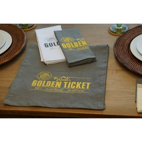SET X2 REPASADORES GOLDEN TICKET 46X56 - oLive!