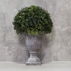 MACETA ORNAMENTAL + PLANTA DECO