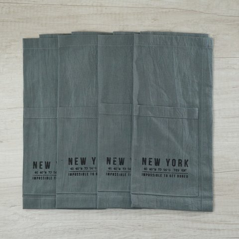 SET X4 INDIVIDUALES NEW YORK  34X44