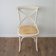 SILLA CROSS ANTIQUE BEIGE - comprar online