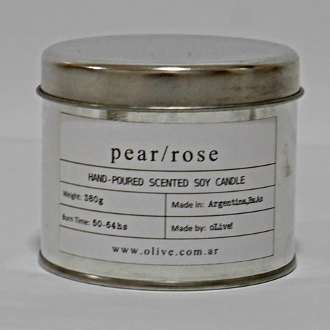 VELA oLive! CAN PEAR/ROSE