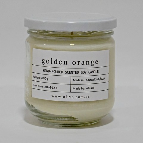 VELA oLive! JAR GOLDEN ORANGE