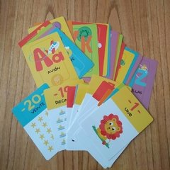 Abecedario y números (Educards) - Chanchitos Pochocleros