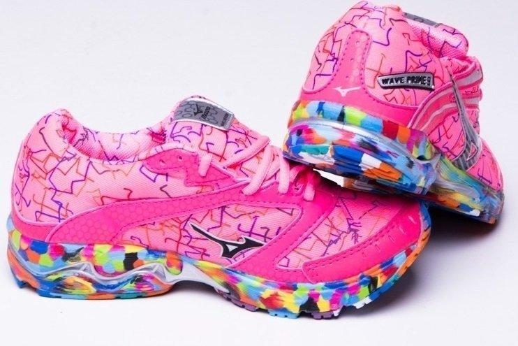 908e5141da7d4 Tenis Mizuno Wave Prime 9 Osaka Rosa - comprar online ...
